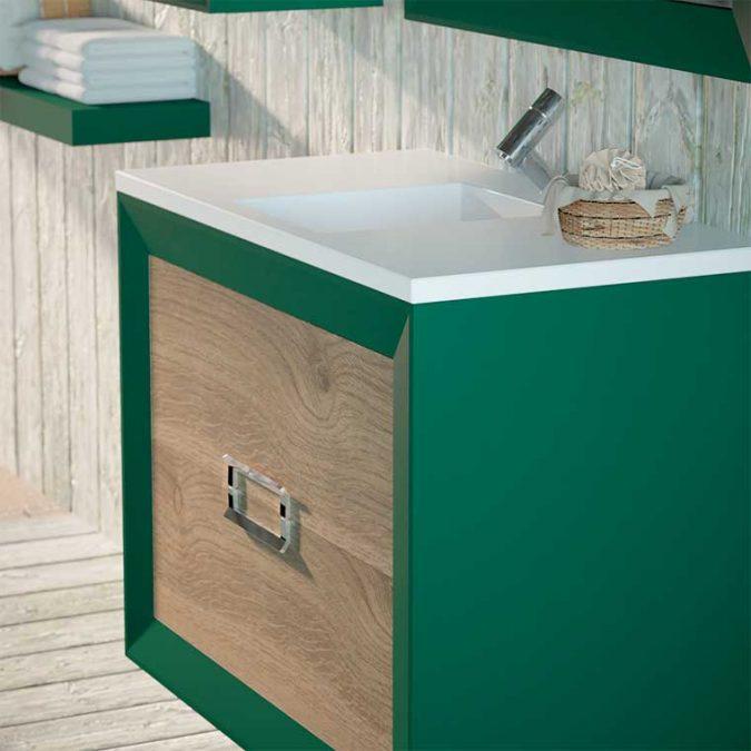 Detalle Muebles de Baño L-Gant 2 Cajones