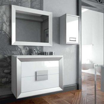 Mueble de Baño L-Gant Kuadrus 2 Cajones