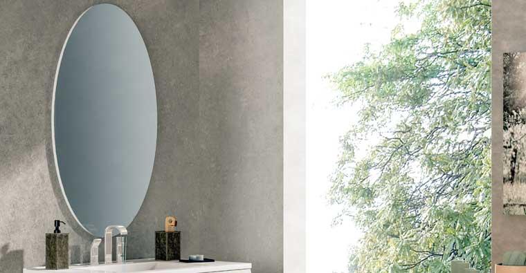 Espejo de baño modelo Óvalo