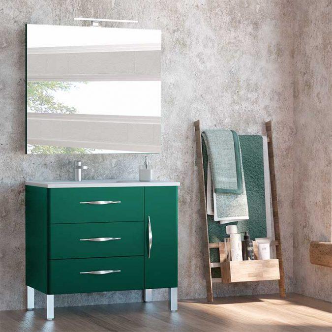 Mueble de Baño Tecia 80 cm. 3 cajones 1 puerta