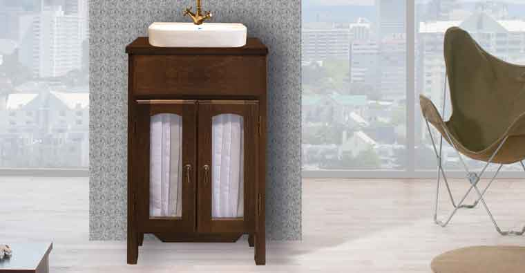Mueble de lavabo Zuri 55 cm.